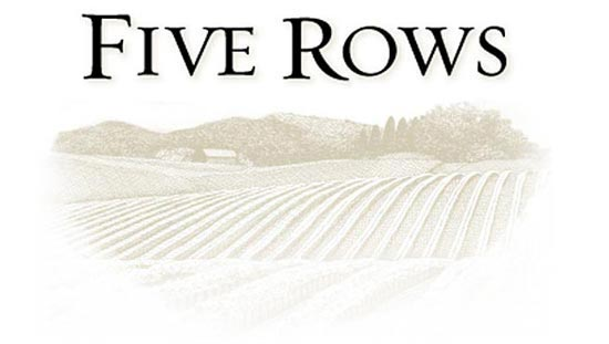 Five Rows Wine Logo